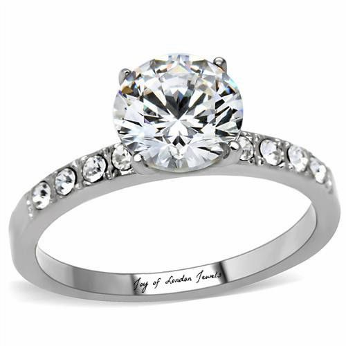 Birthday Gifts A Perfect Classic Tiffany Style 3 4ct Round Cut