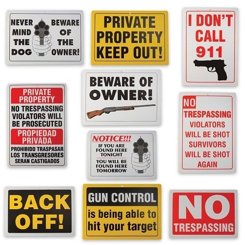Birthday Gifts for Teenagers : Funny Warning Sign Set. Siblings Day ...