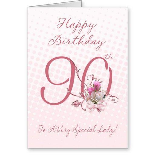 Birthday Gifts Ideas 90th Card