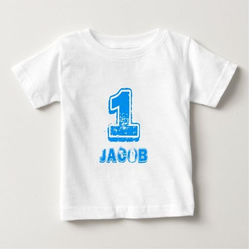 Birthday Gifts Ideas Babys 1st T Shirt For One Year Old