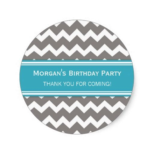 Birthday Gifts Ideas Thank You Custom Name Favor Tags
