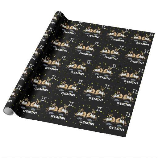 Birthday Gifts Ideas Gemini Gift Wrapping Paper
