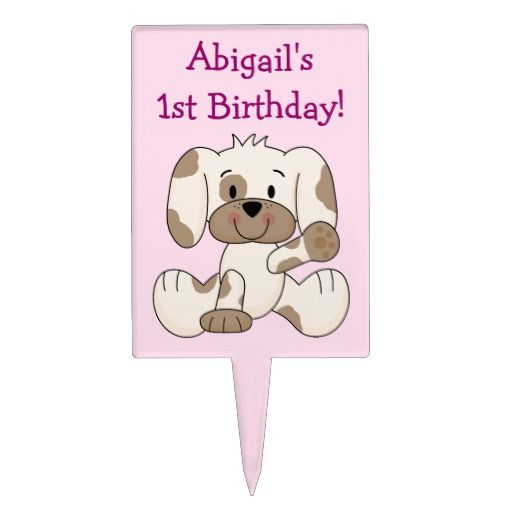 Birthday Gifts Ideas Personalized 1st Puppy Dog Cake