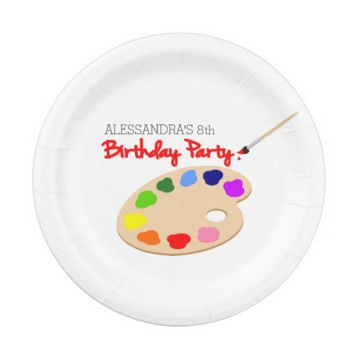 Birthday Gifts Ideas Rainbow Artist Palette Painting