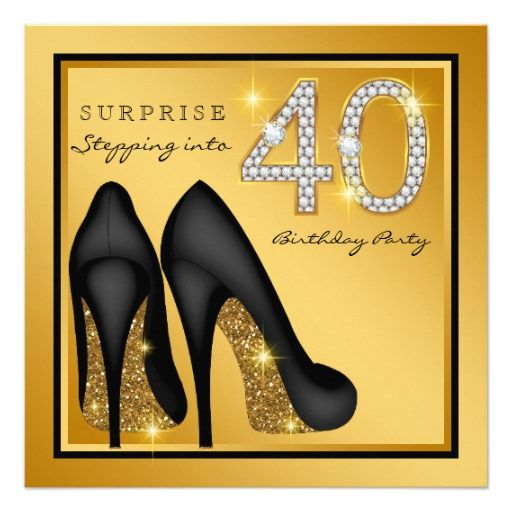 Birthday Gifts Ideas Womans Surprise 40th Party