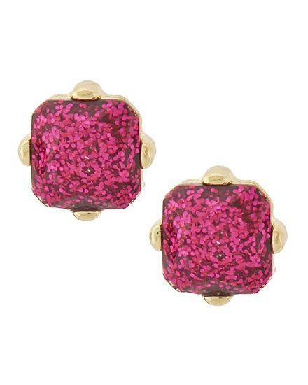 Birthday Gifts Joy Of London Sugar Stack Pink Gold Glitter Stud