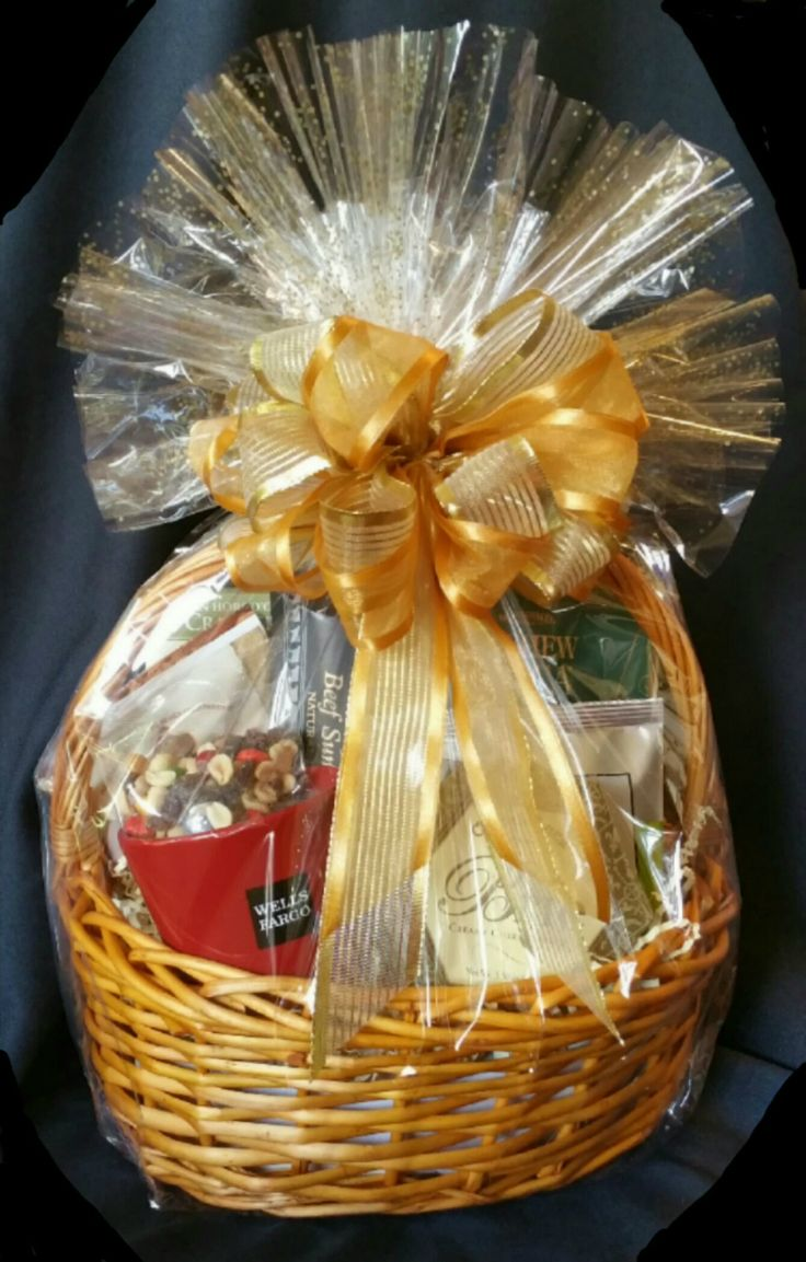Corporate Gift Basket with Marketing Materials (see coffee mug on lower left wit...