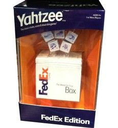 Create a custom version of the popular YAHTZEE® Game for corporate gifts, promo...