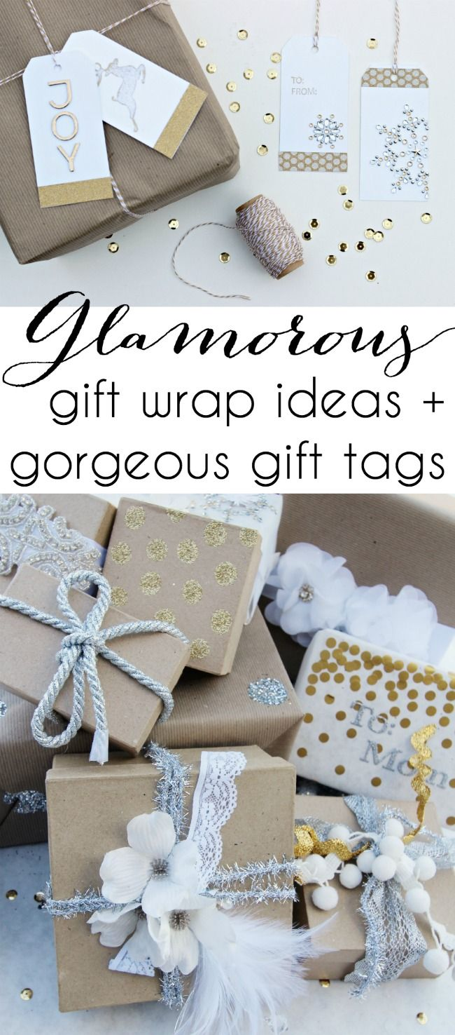diy gift wrapping ideas diy glamorous gift tags classy clutter