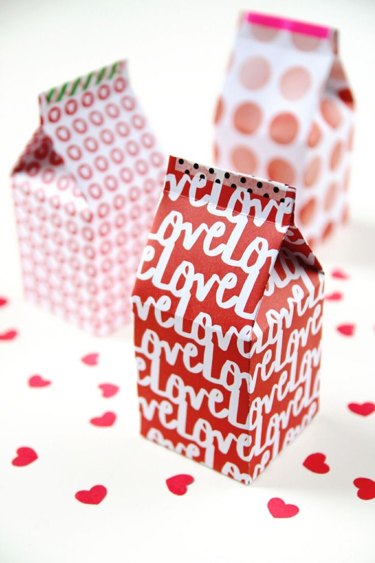 DIY Gift Wrapping Ideas : DIY: milk carton gift boxes (free ...