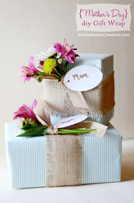 DIY Gift Wrapping Ideas : Mother\'s Day Gift Wrapping Ideas ...