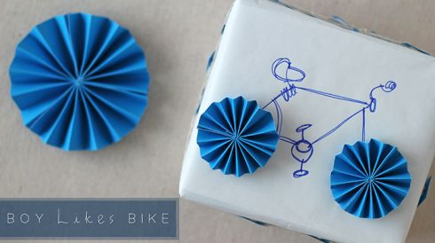 So cute!  For the bicyclist in your life!