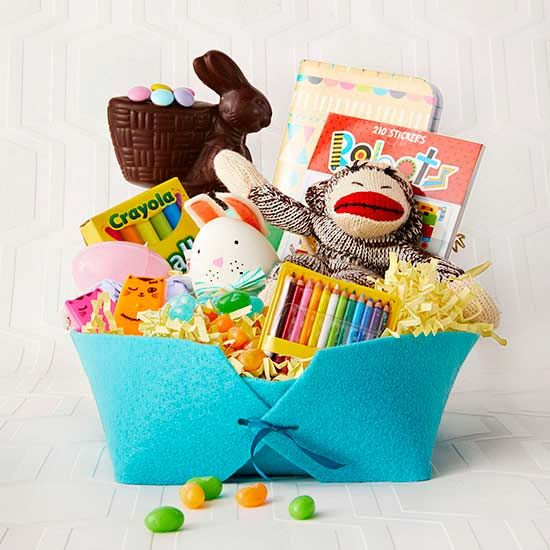 Diy gifts an unexpected material helps this adorable easter basket diy gifts 2018 2019 negle Images