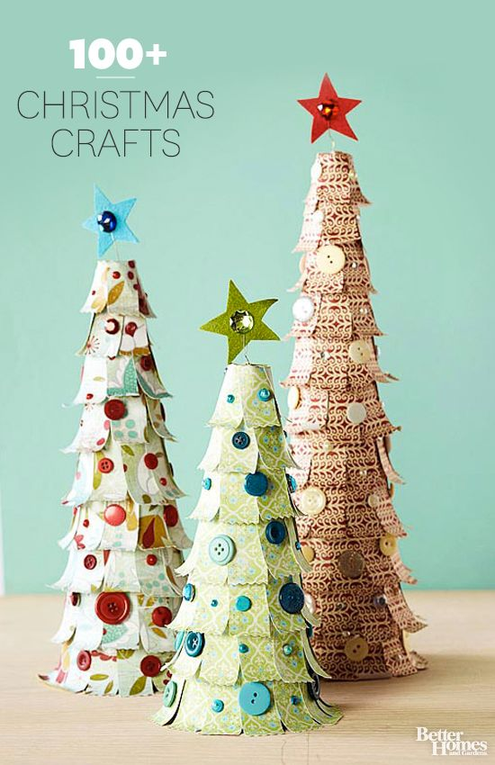 Celebrate the season with hundreds of our favorite Christmas crafts! Pin now for...