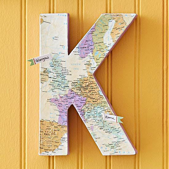 Commemorate a special vacation shared with your loved ones with a map-covered mo...