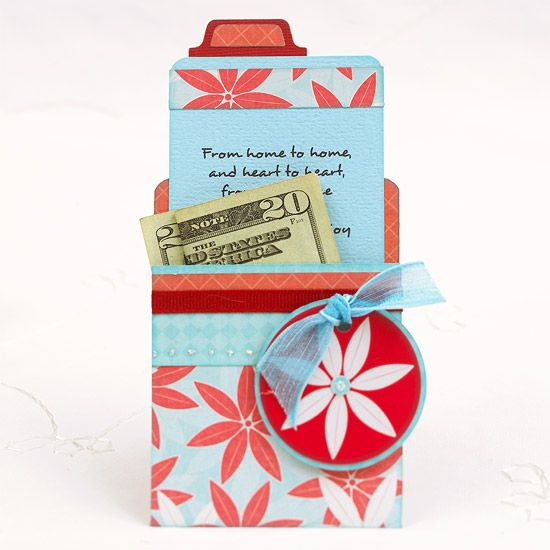 Giving gift cards this Christmas? These handmade Gift-Card Holders add a little ...