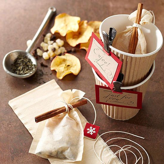 Homemade tea mix makes a thoughtful homemade gift.  Mix features ginger, cloves,...
