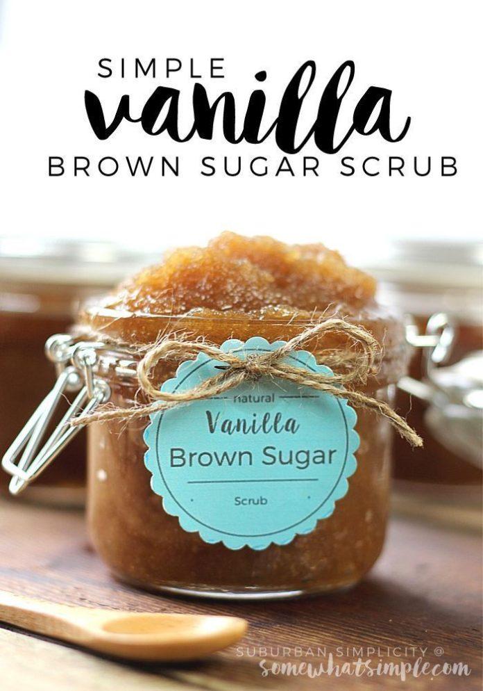 DIY Gifts Ideas : Vanilla Brown Sugar Scrub