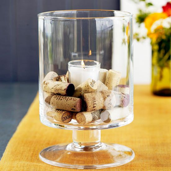 These fun wine cork craft and project ideas are the perfect thing to add to a gi...