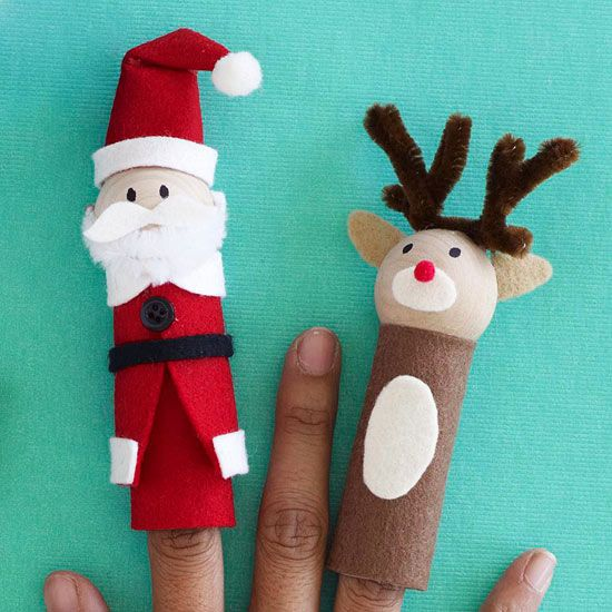 Use these finger puppets to help tell the magical stories of the season to your ...