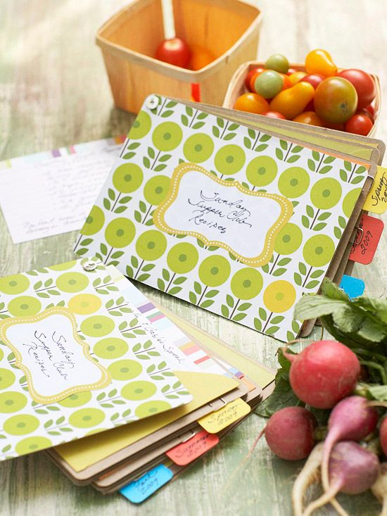 DIY Gifts : Who wouldn't love this Handmade Recipe Book? More