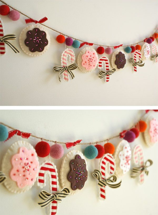 Diy wrapping gifts inspiration create this diy christmas garland diy wrapping gifts inspiration create this diy christmas garland solutioingenieria Image collections