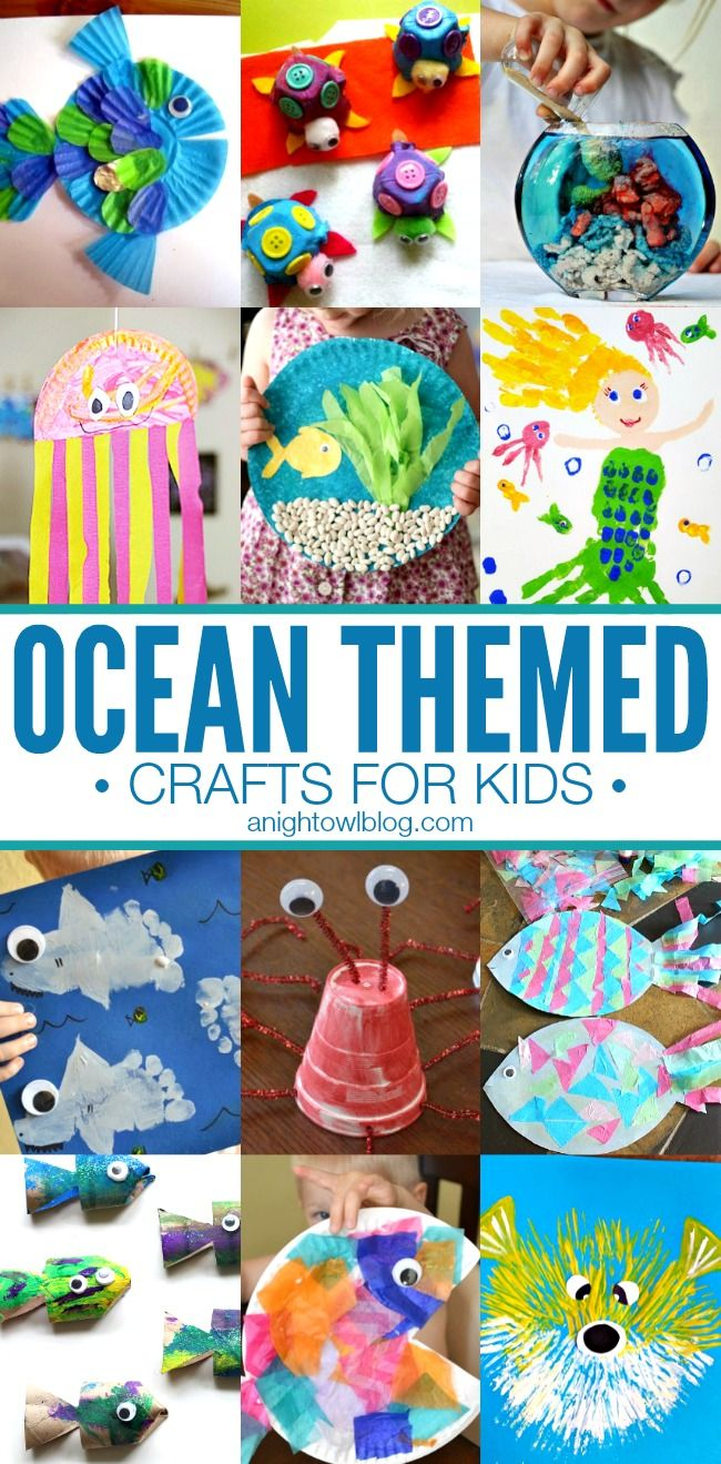 diy wrapping gifts inspiration ocean themed crafts for kids