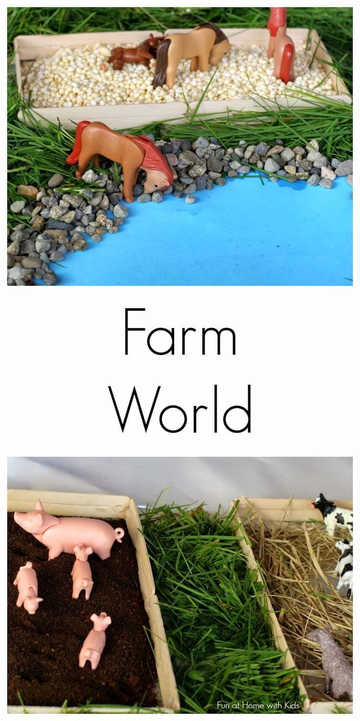 DIY Wrapping Gifts Inspiration : Simple Small Worlds: Farm World ...