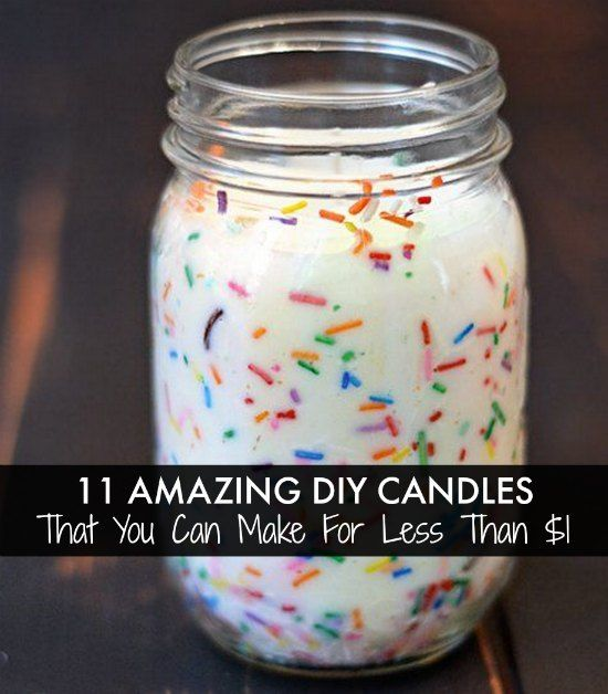 DIY Gifts : 11 Amazing DIY Candles That You Can Make For Less Than ...