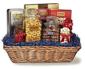 Corporate Gifts Ideas : Delen Corporate Gift Basket | Gourmet Food ...
