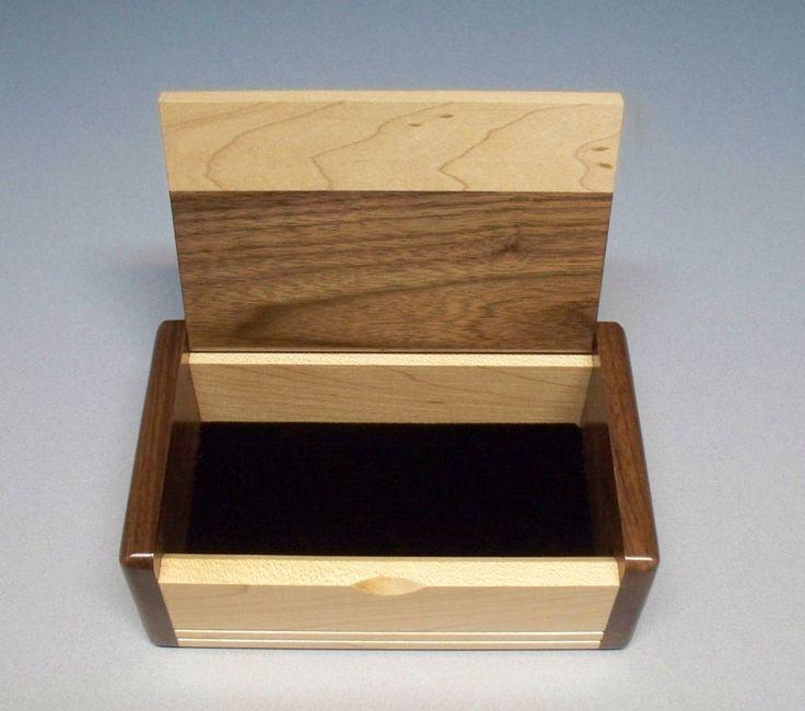 Corporate Gifts Ideas Walnut Maple Inlay Box Gift Idea Best