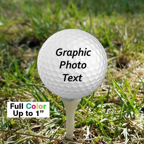 Corporate Gifts Ideas Wedding Favors Custom Uv Printed Golf Balls