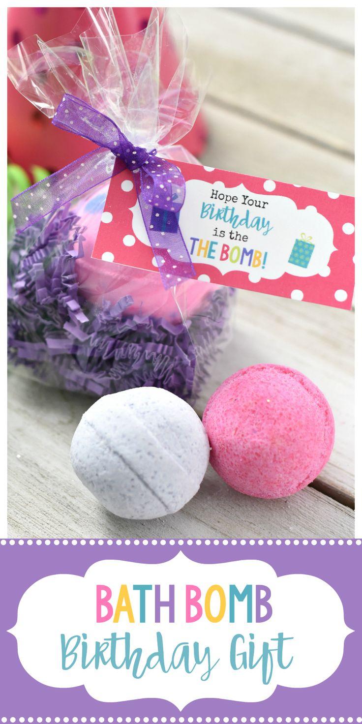 DIY Gifts Ideas Cute Bath Bomb Birthday Gift This Simple Spa