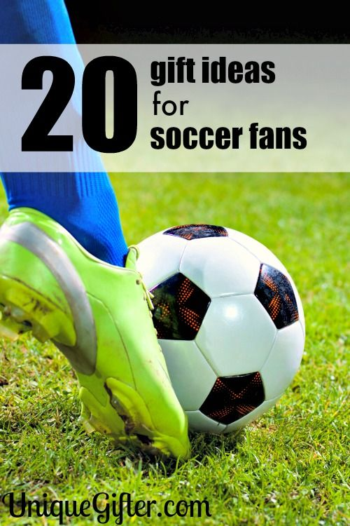 Goal! My son will love these gift ideas for soccer fans. He can never have…