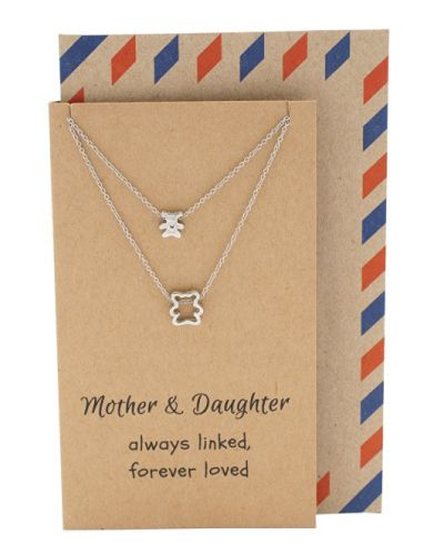 Mothers Day Gift Ideas Momma Bear And Little Bear Necklace