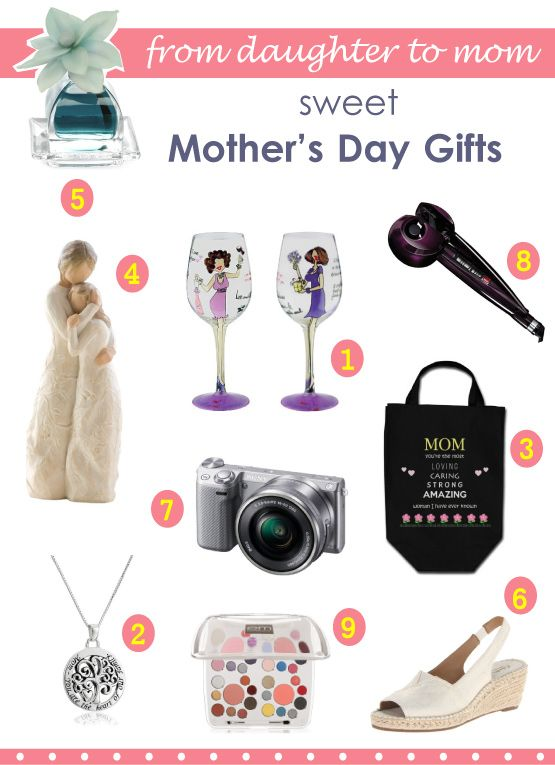 Mothers Day Gift Ideas Mothers Day Gifts From Daughter Mom