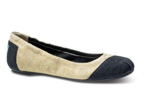 Burlap Alessandra Ballet Flats | TOMS.com