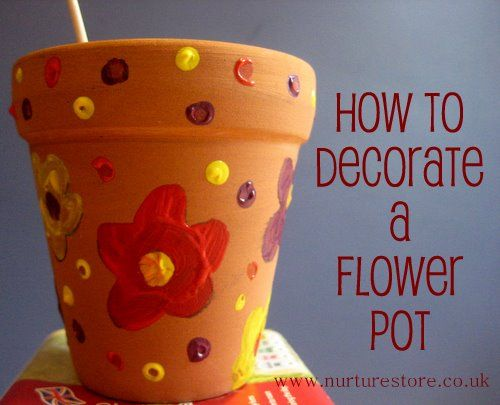 Mothers day gift ideas how to decorate a flower pot pretty mothers day gift ideas negle Gallery
