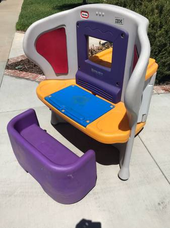 Free Giveaway : Kids Little Tikes Computer Desk (613 W. Julianna St.  Anaheim 92801 By La Palma And Harbor) Good Looking