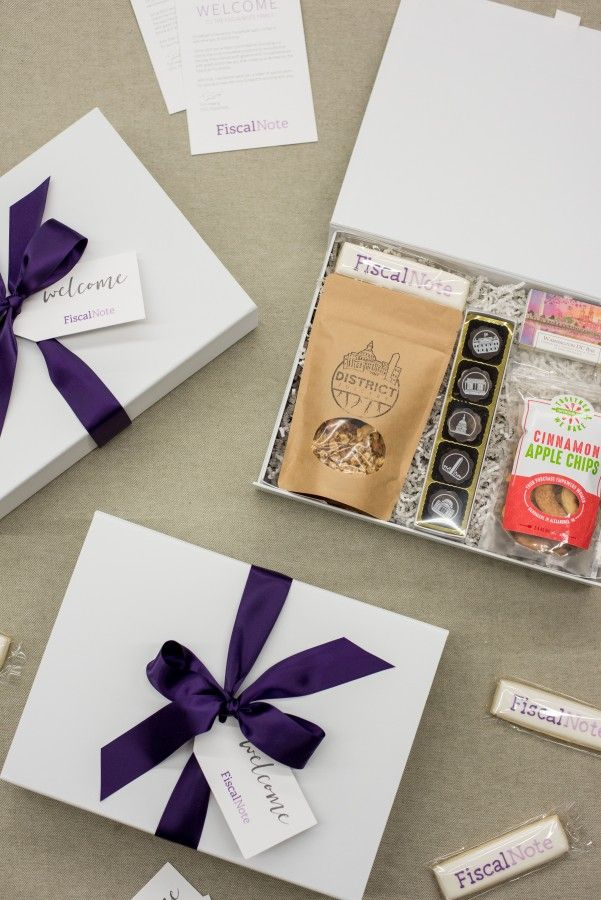 Custom Corporate Gift Boxes For DC-Based Company Fiscal Note