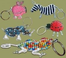Corporate Gifts : african-corporate-gifts-beaded-keyrings