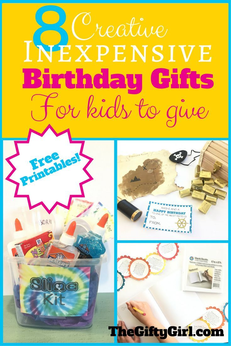 DIY Gifts Ideas Some Fun And Inexpensive Birthday For Your
