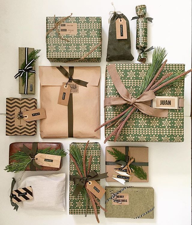 Gifts Wrapping Ideas : Christmas Gifts | 2017 Pantone Colour ...