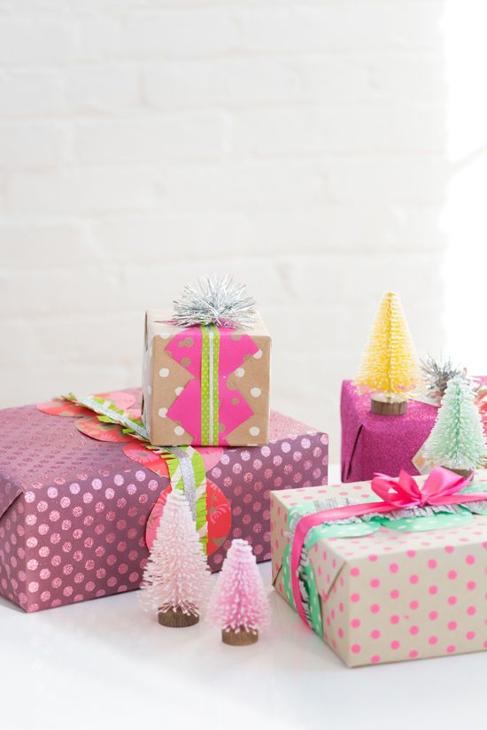 GIFT WRAPPING IDEAS!