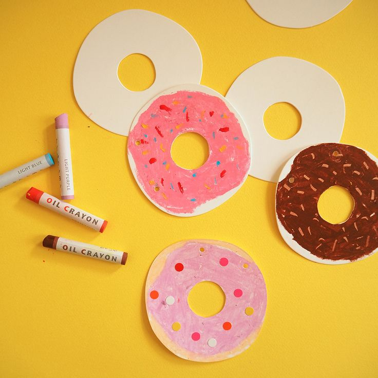 Gift Tag Shapes - Donut