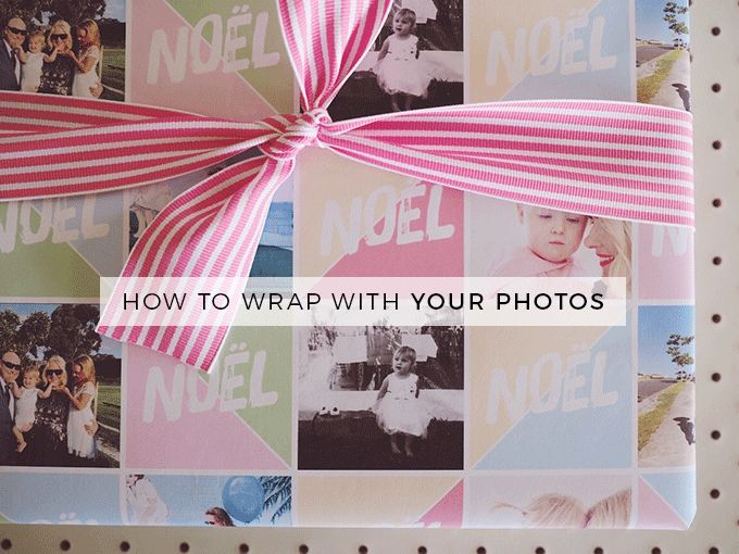 How to wrap your gifts using your awesome photos