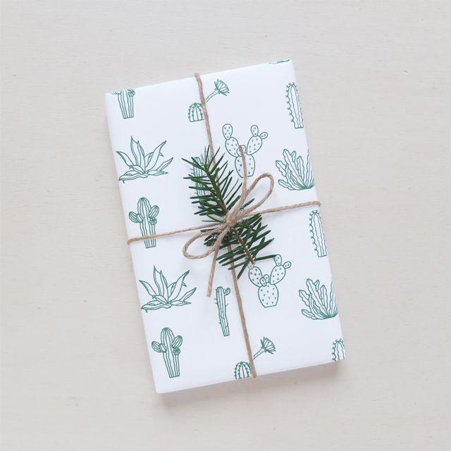 Papier cadeau | Wrapping paper Botanic via Audrey Jeanne. Click on the image to ...