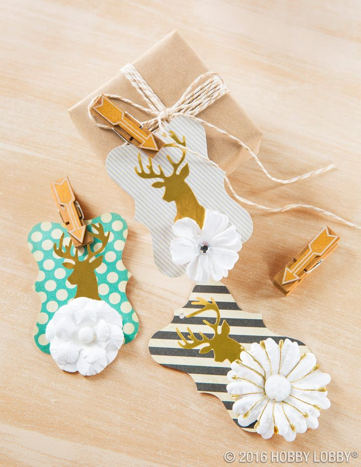Think outside the tag! Discover ways to embellish, craft and gift with tags!
