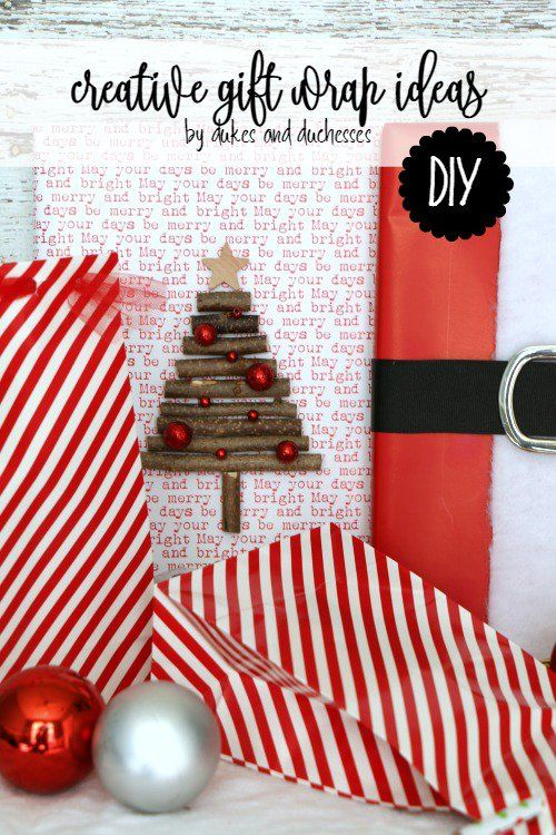 creative gift wrap ideas with @HobbyLobby craft items  #ad #CreativeChristmas #H...