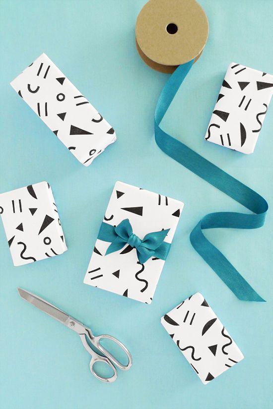 gift wrap printable | designlovefest
